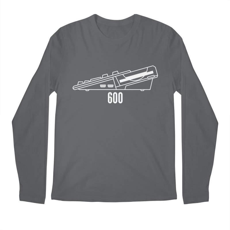 Commodore Amiga 600 Men's Regular Longsleeve T-Shirt by 2pxSolidBlack
