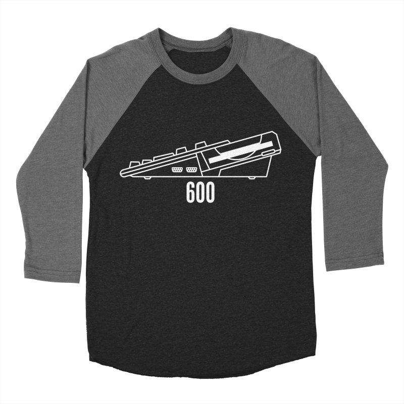 Commodore Amiga 600 Men's Baseball Triblend Longsleeve T-Shirt by 2pxSolidBlack