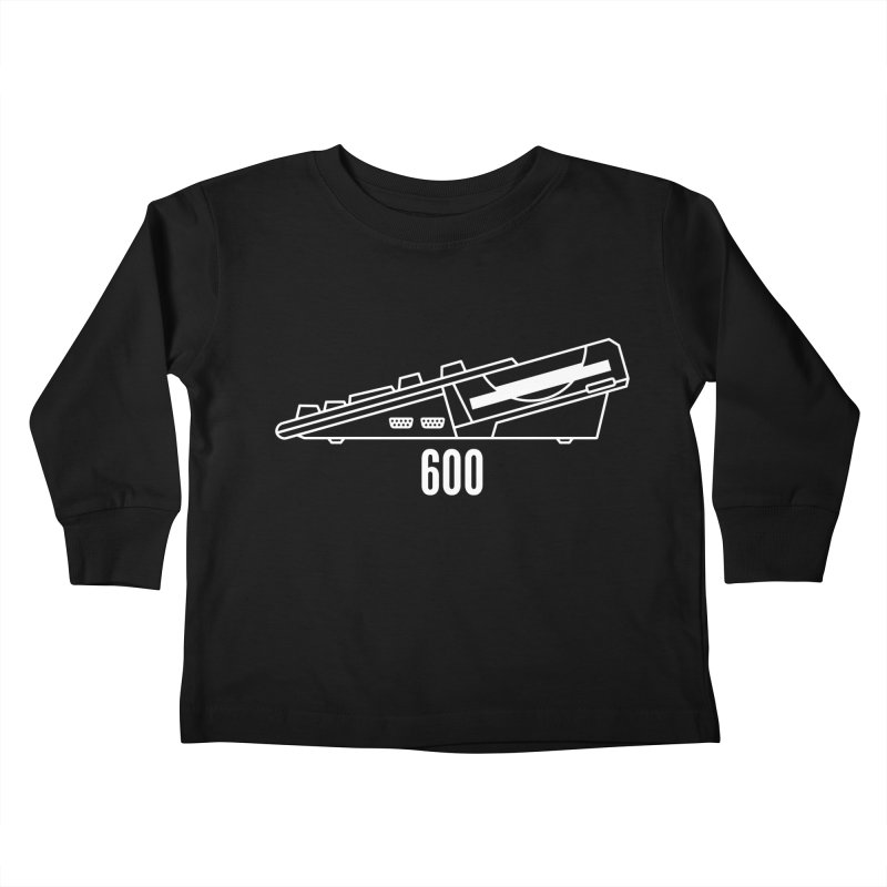 Commodore Amiga 600 Kids Toddler Longsleeve T-Shirt by 2pxSolidBlack
