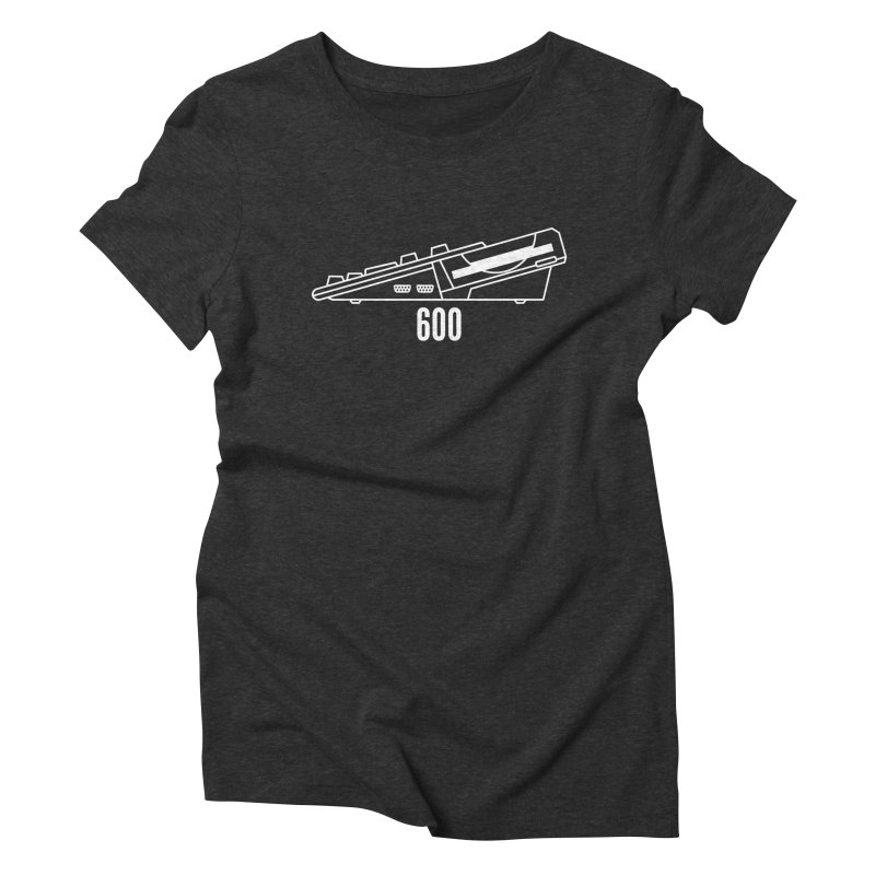 Commodore Amiga 600 Women's Triblend T-Shirt by 2pxSolidBlack