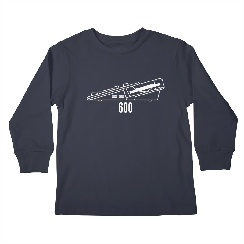 Commodore Amiga 600 Kids Longsleeve T-Shirt by 2pxSolidBlack