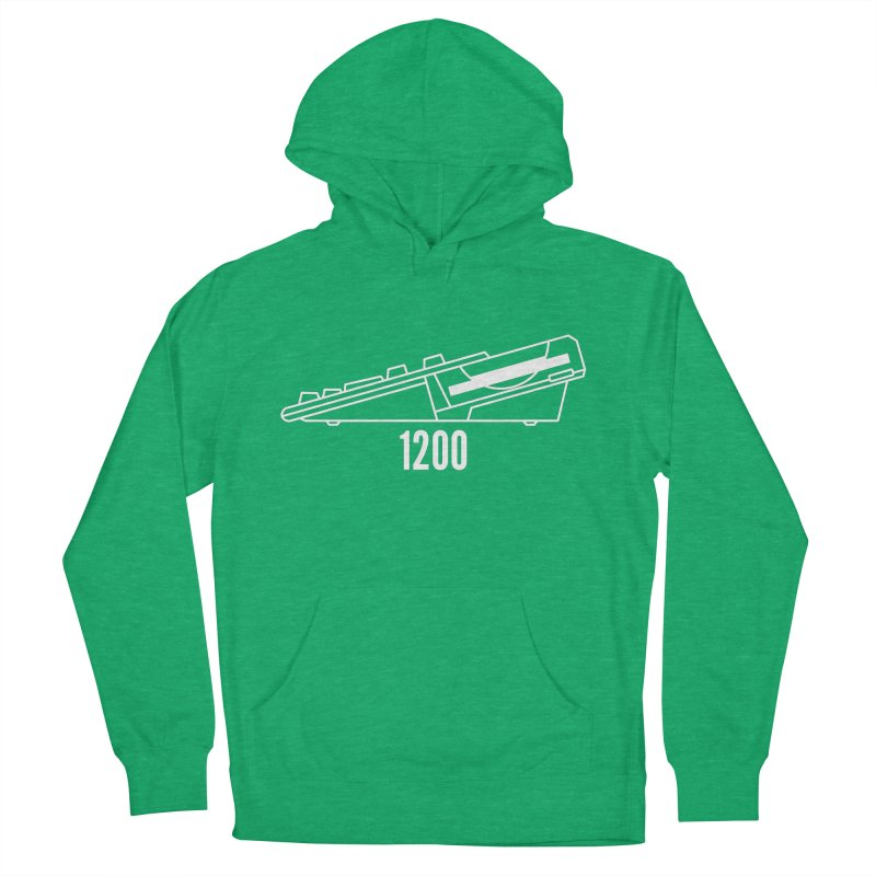 Commodore Amiga 1200 Men's French Terry Pullover Hoody by 2pxSolidBlack
