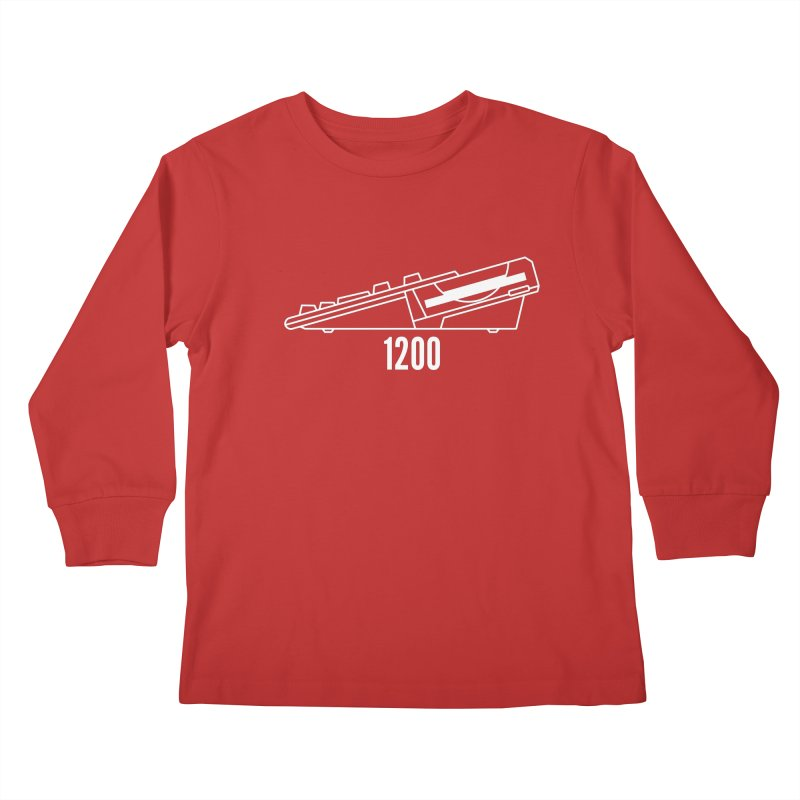 Commodore Amiga 1200 Kids Longsleeve T-Shirt by 2pxSolidBlack