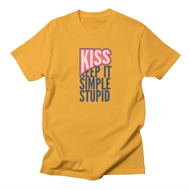 KISS - Keep It Simple Stupid Women's Unisex T-Shirt by 2pxSolidBlack