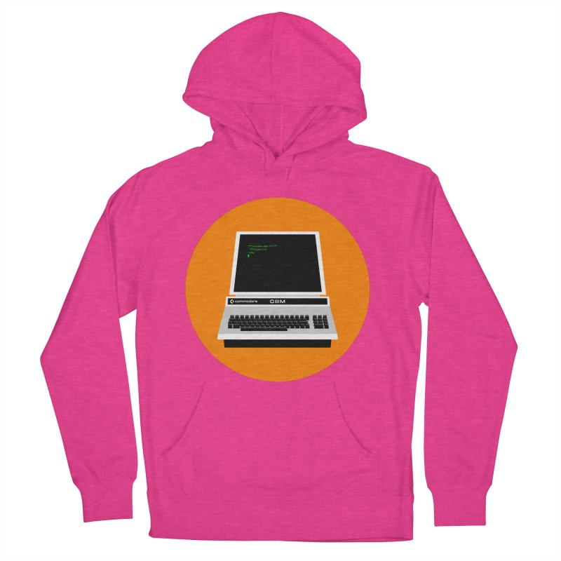 Commodore PET Women's French Terry Pullover Hoody by 2pxSolidBlack