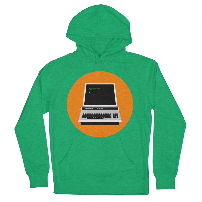 Commodore PET Men's Pullover Hoody by 2pxSolidBlack