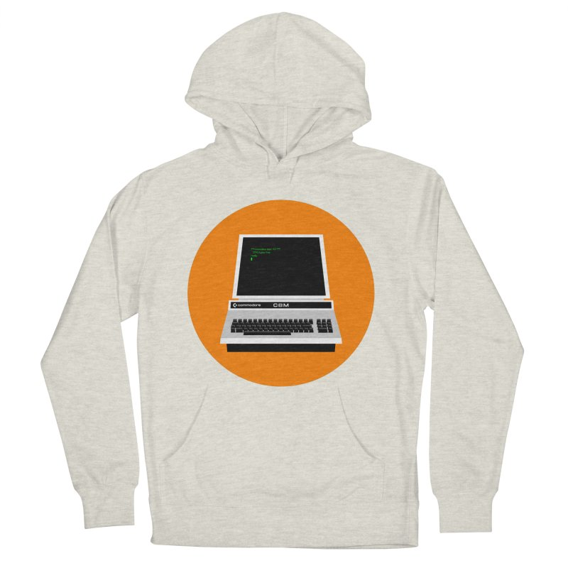 Commodore PET Men's French Terry Pullover Hoody by 2pxSolidBlack