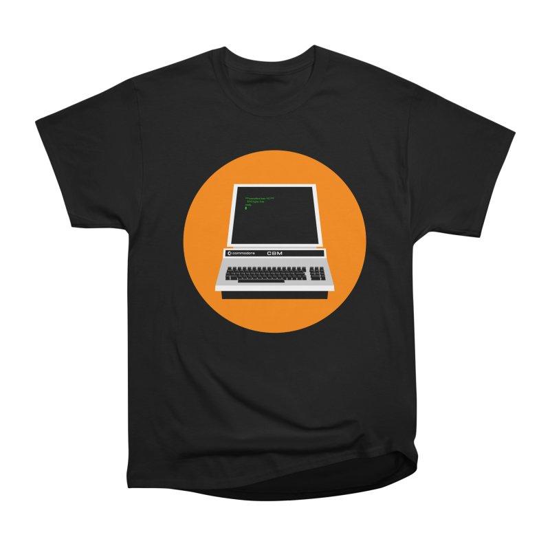 Commodore PET Women's Heavyweight Unisex T-Shirt by 2pxSolidBlack