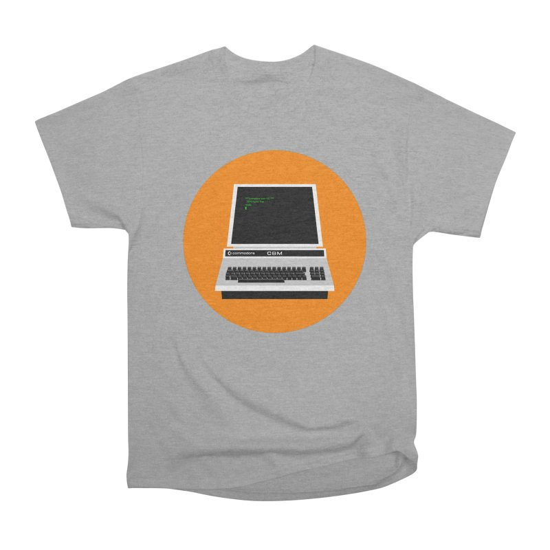Commodore PET Men's Heavyweight T-Shirt by 2pxSolidBlack