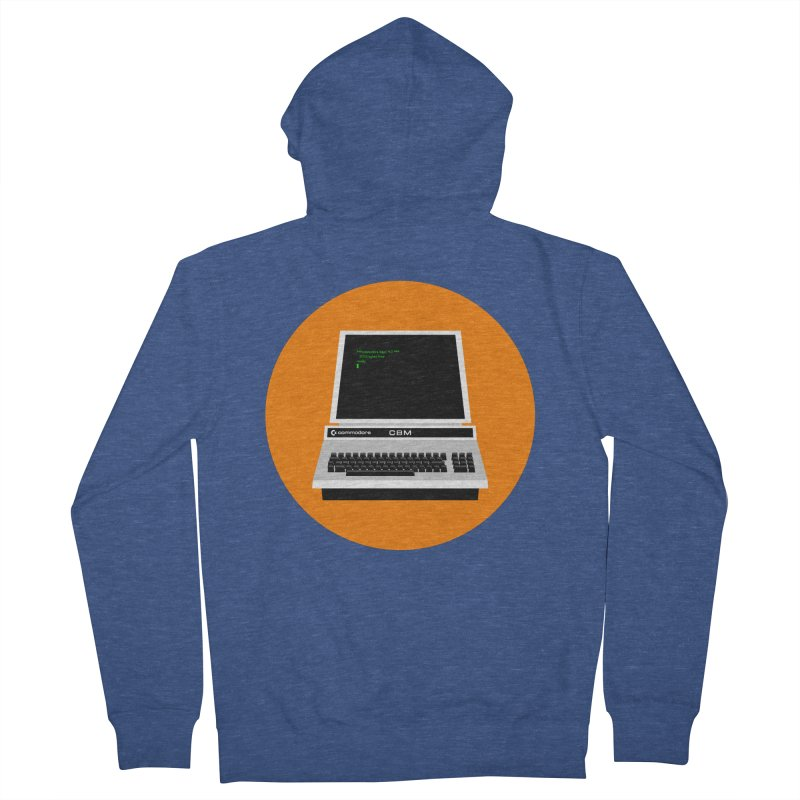 Commodore PET Men's Zip-Up Hoody by 2pxSolidBlack