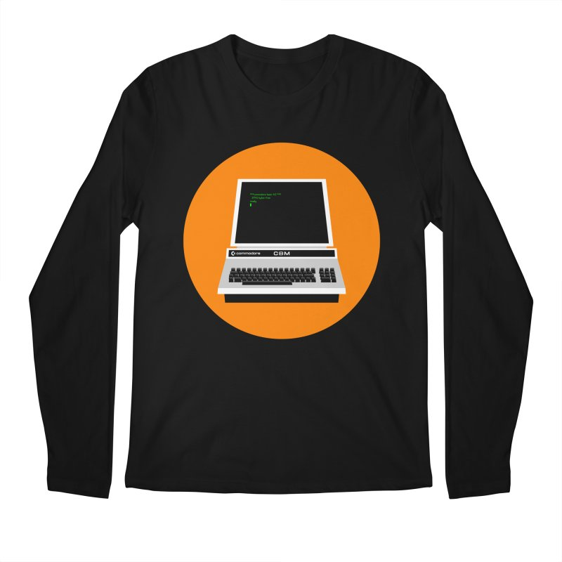 Commodore PET Men's Longsleeve T-Shirt by 2pxSolidBlack