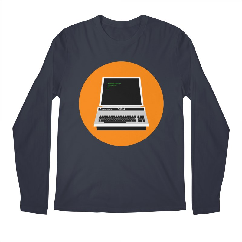 Commodore PET Men's Regular Longsleeve T-Shirt by 2pxSolidBlack
