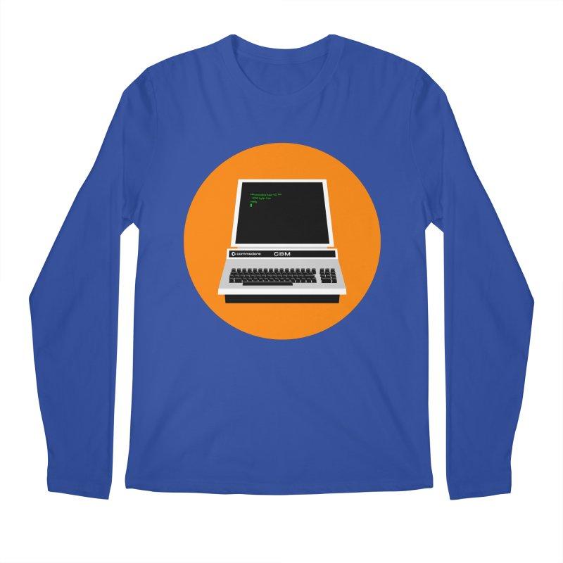 Commodore PET Men's Regular Longsleeve T-Shirt by 2pxSolidBlack