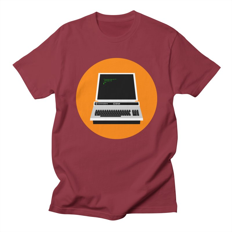 Commodore PET Men's Regular T-Shirt by 2pxSolidBlack