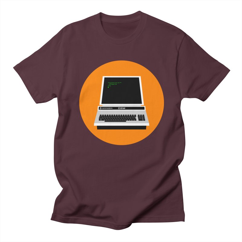 Commodore PET Men's T-Shirt by 2pxSolidBlack