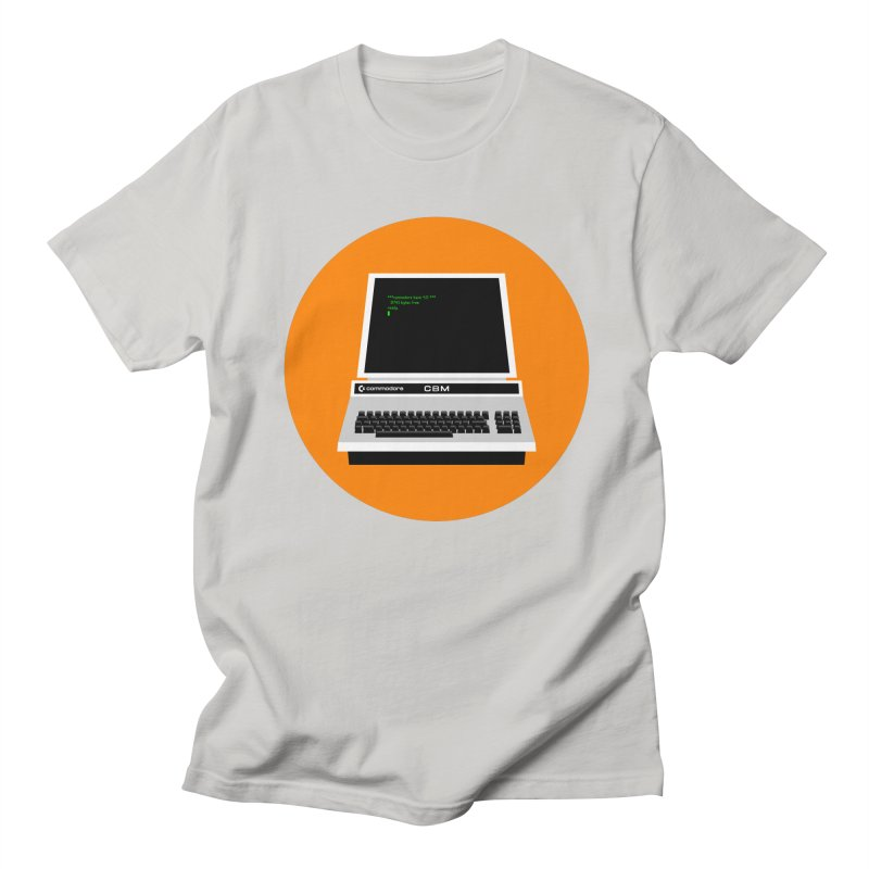 Commodore PET Women's Regular Unisex T-Shirt by 2pxSolidBlack