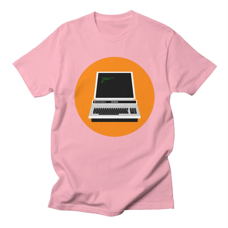 Commodore PET Men's Regular T-Shirt by 2pxSolidBlack