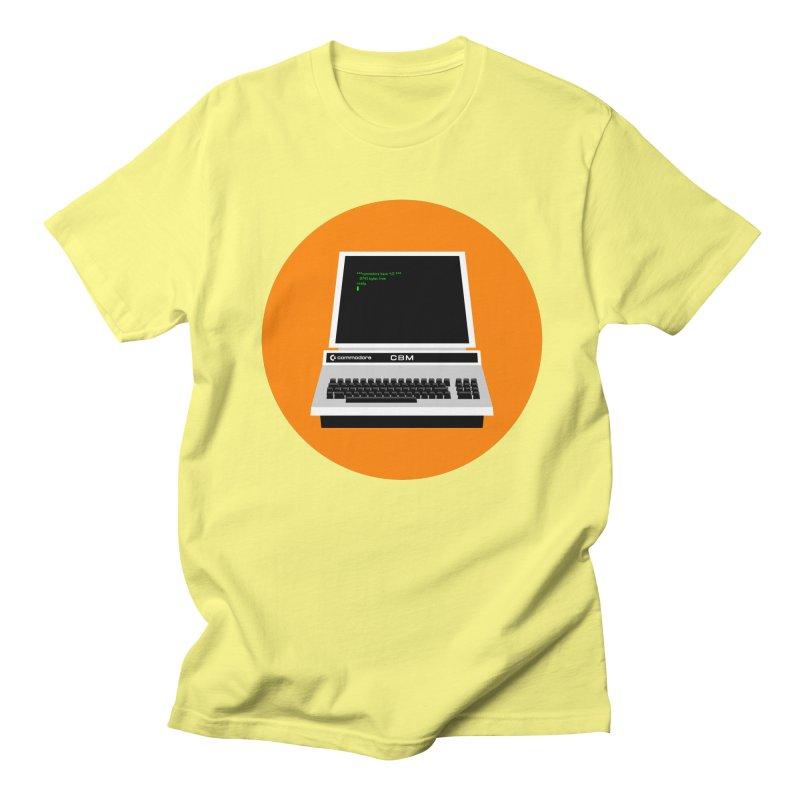 Commodore PET Women's Regular Unisex T-Shirt by 2pxSolidBlack