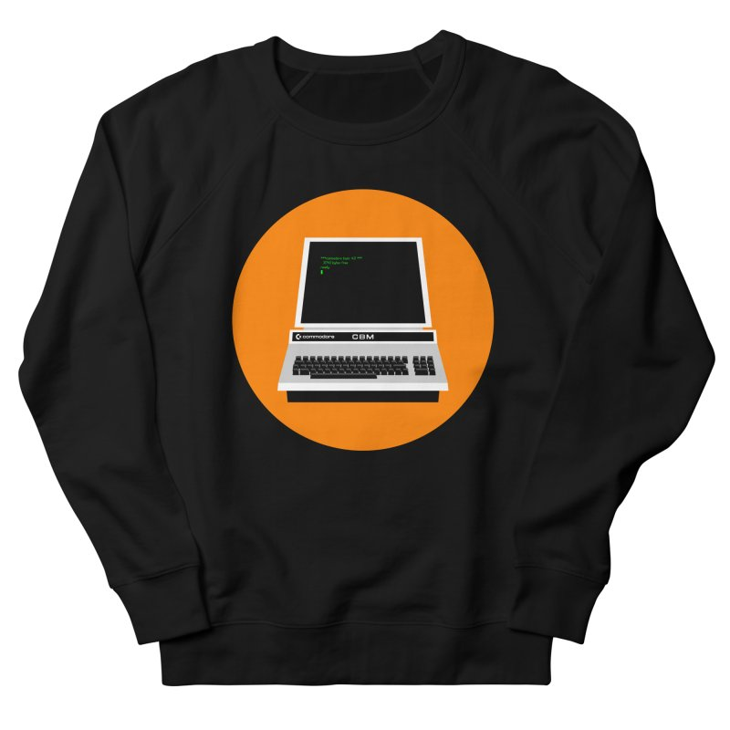 Commodore PET Women's French Terry Sweatshirt by 2pxSolidBlack