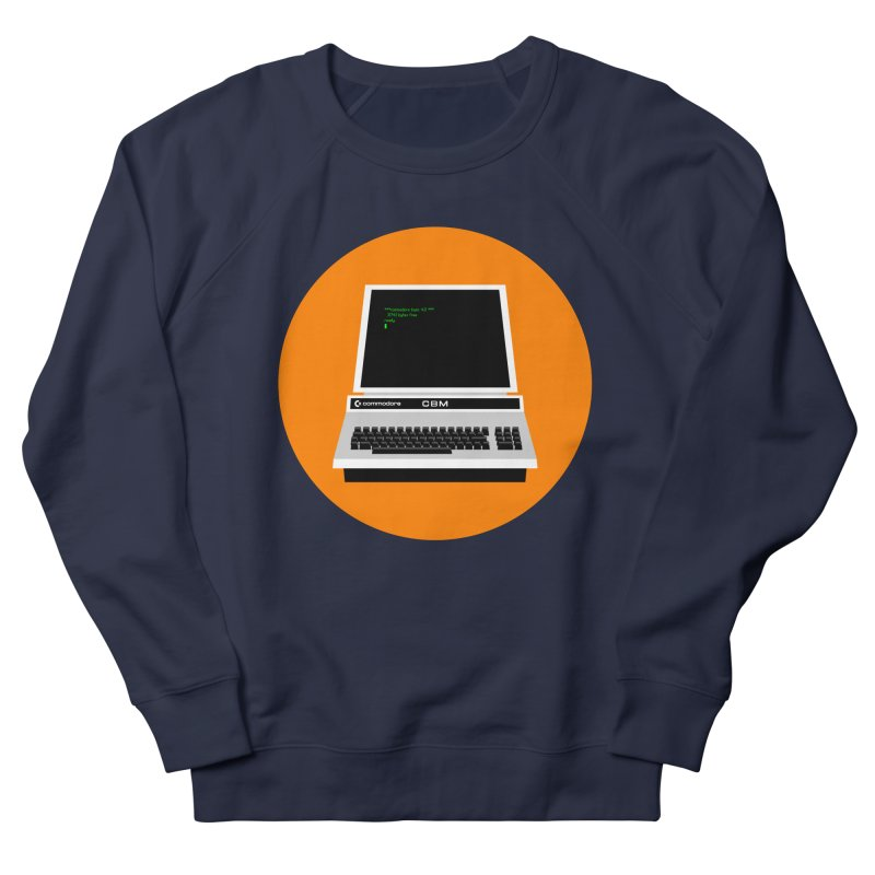 Commodore PET Men's French Terry Sweatshirt by 2pxSolidBlack