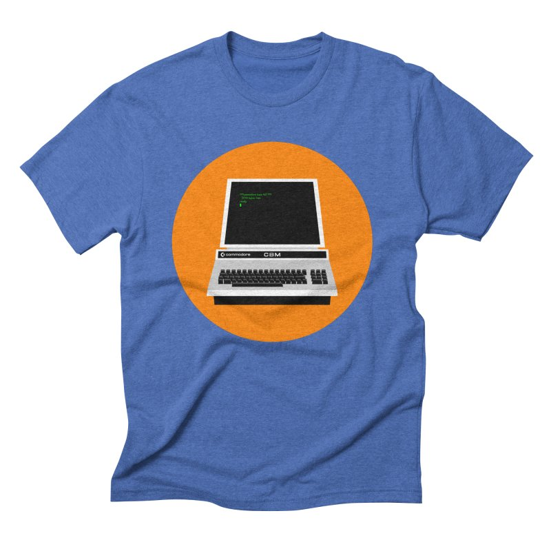 Commodore PET Men's Triblend T-Shirt by 2pxSolidBlack
