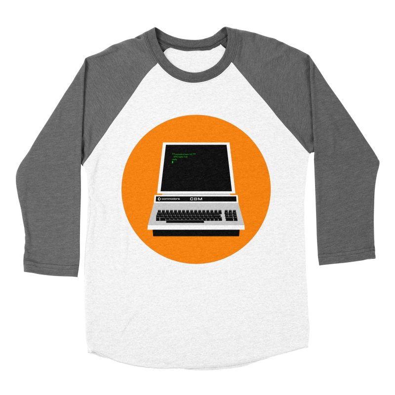 Commodore PET Men's Baseball Triblend Longsleeve T-Shirt by 2pxSolidBlack