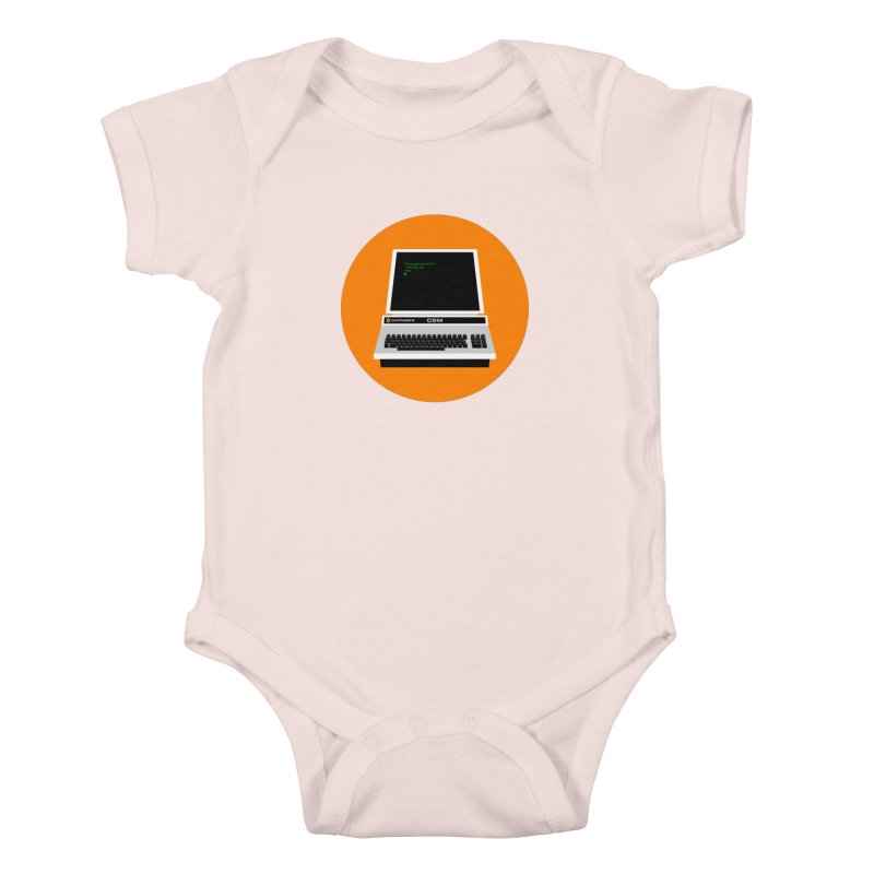 Commodore PET Kids Baby Bodysuit by 2pxSolidBlack