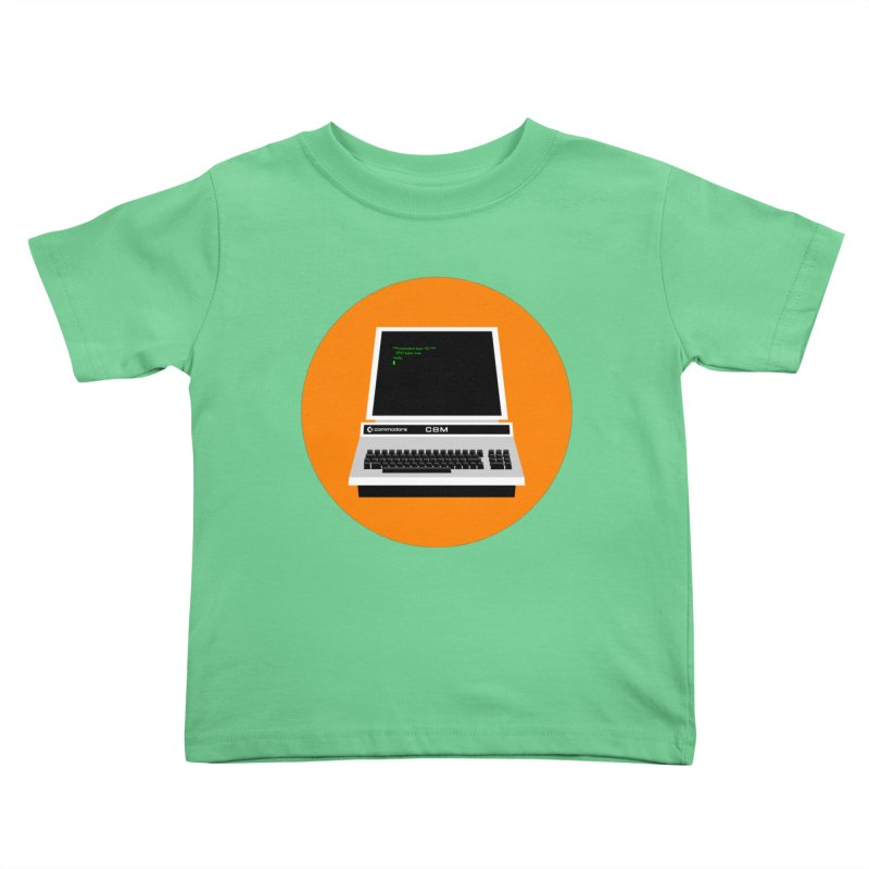 Commodore PET Kids Toddler T-Shirt by 2pxSolidBlack