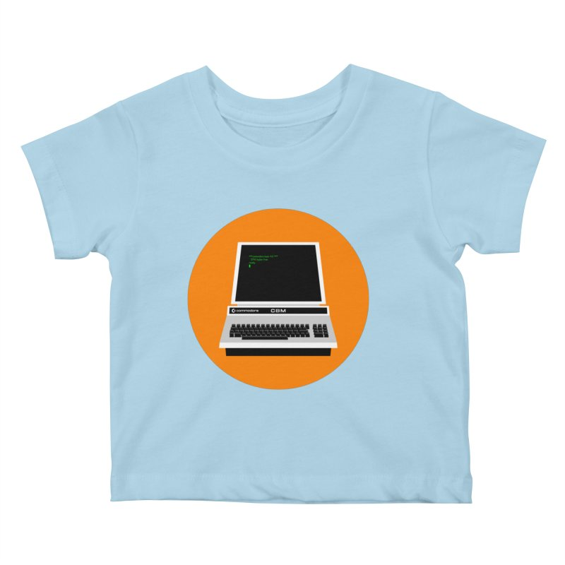 Commodore PET Kids Baby T-Shirt by 2pxSolidBlack
