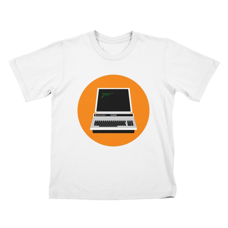 Commodore PET Kids T-Shirt by 2pxSolidBlack