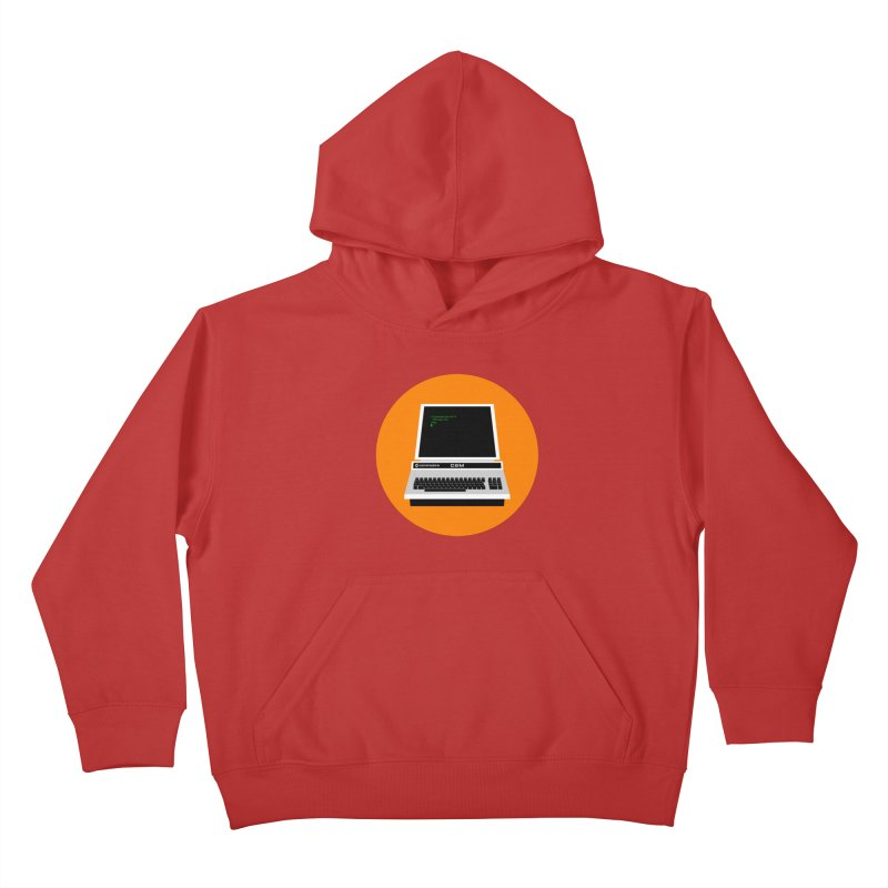 Commodore PET Kids Pullover Hoody by 2pxSolidBlack