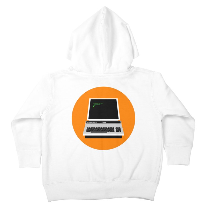 Commodore PET Kids Toddler Zip-Up Hoody by 2pxSolidBlack