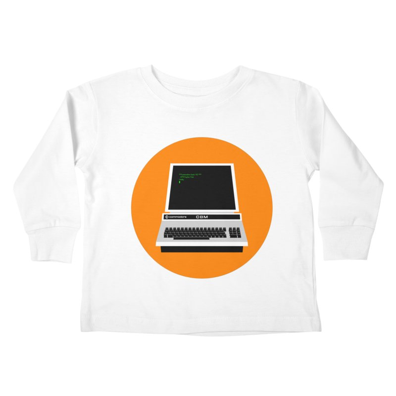 Commodore PET Kids Toddler Longsleeve T-Shirt by 2pxSolidBlack