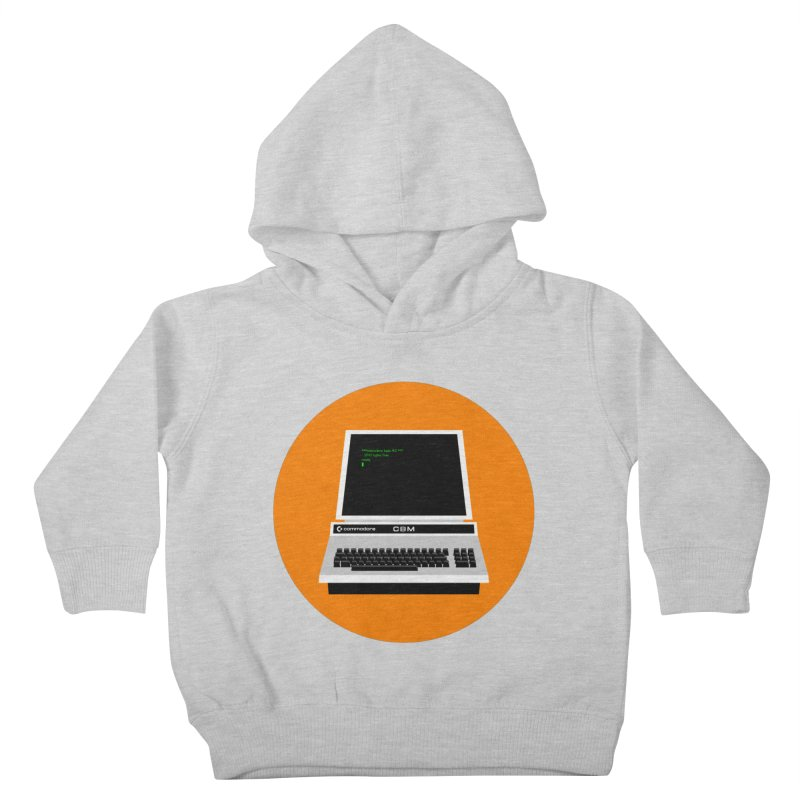 Commodore PET Kids Toddler Pullover Hoody by 2pxSolidBlack