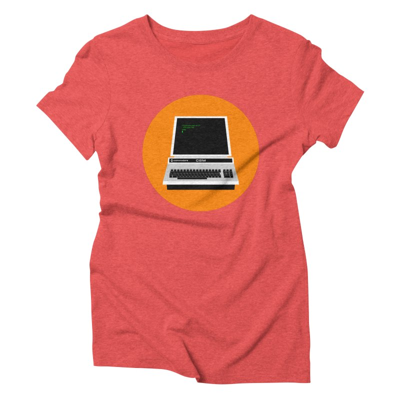 Commodore PET Women's Triblend T-Shirt by 2pxSolidBlack
