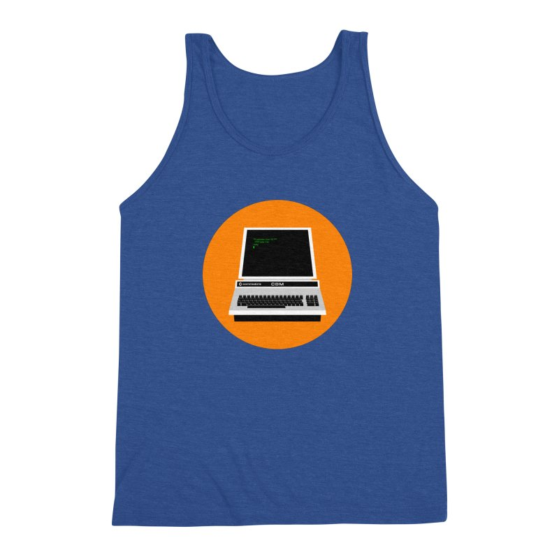 Commodore PET Men's Triblend Tank by 2pxSolidBlack