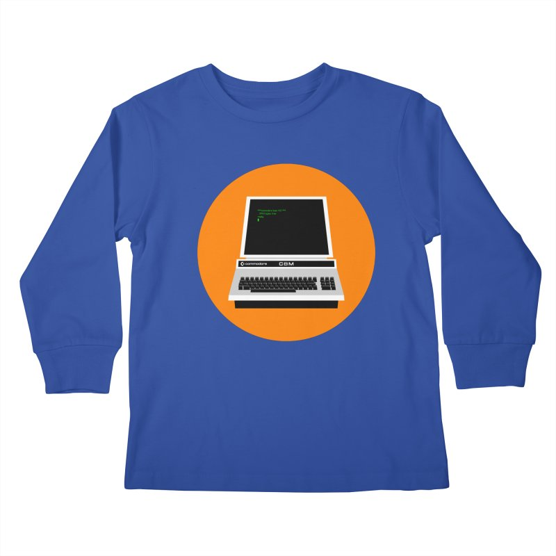 Commodore PET Kids Longsleeve T-Shirt by 2pxSolidBlack