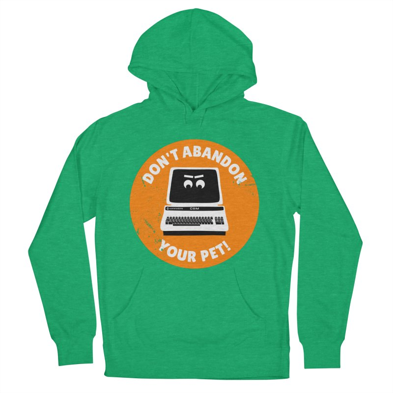 Don't abandon your (Commodore) PET Men's Pullover Hoody by 2pxSolidBlack