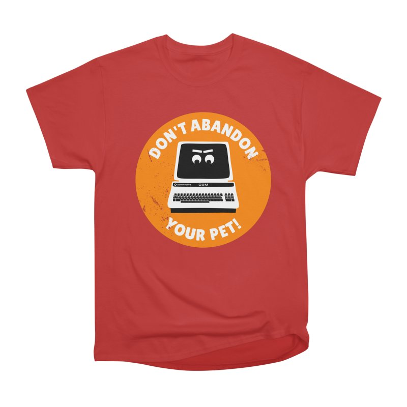 Don't abandon your (Commodore) PET Men's Classic T-Shirt by 2pxSolidBlack