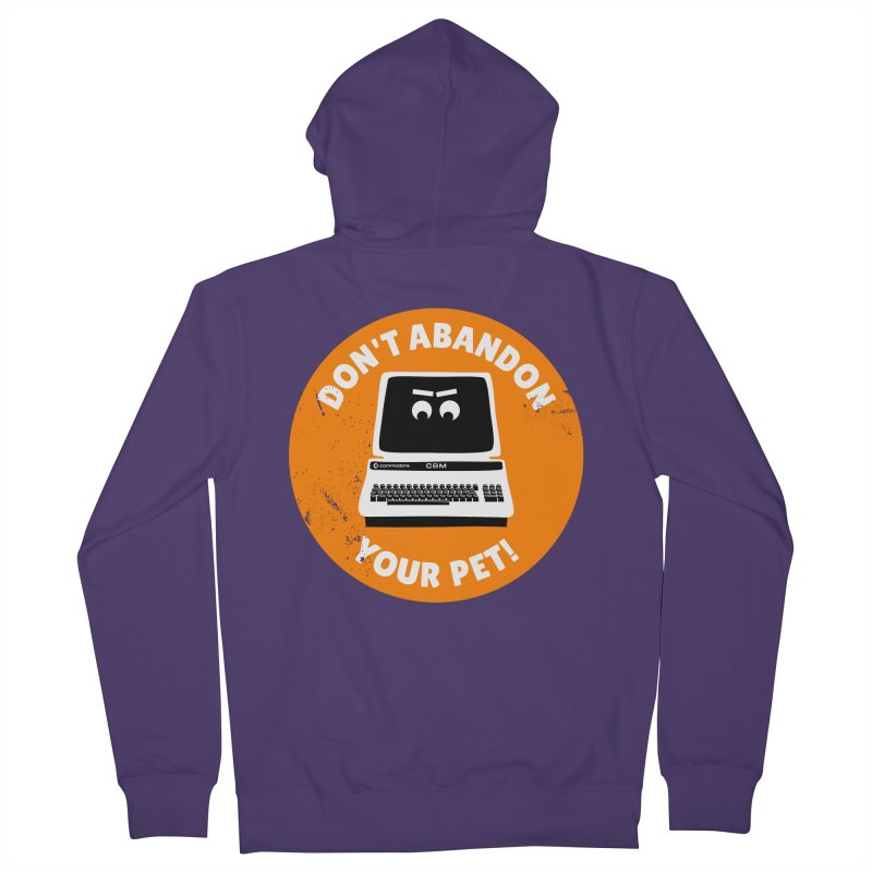 Don't abandon your (Commodore) PET Women's French Terry Zip-Up Hoody by 2pxSolidBlack