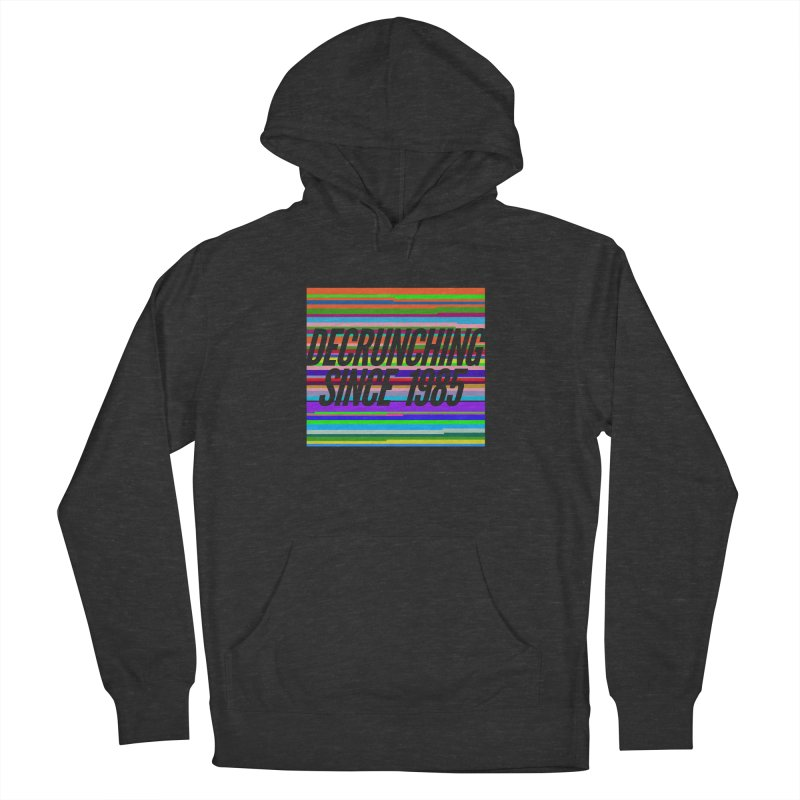 Decrunching Since 1985 Women's Pullover Hoody by 2pxSolidBlack