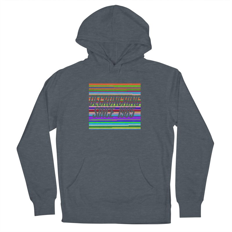 Decrunching Since 1985 Men's Pullover Hoody by 2pxSolidBlack
