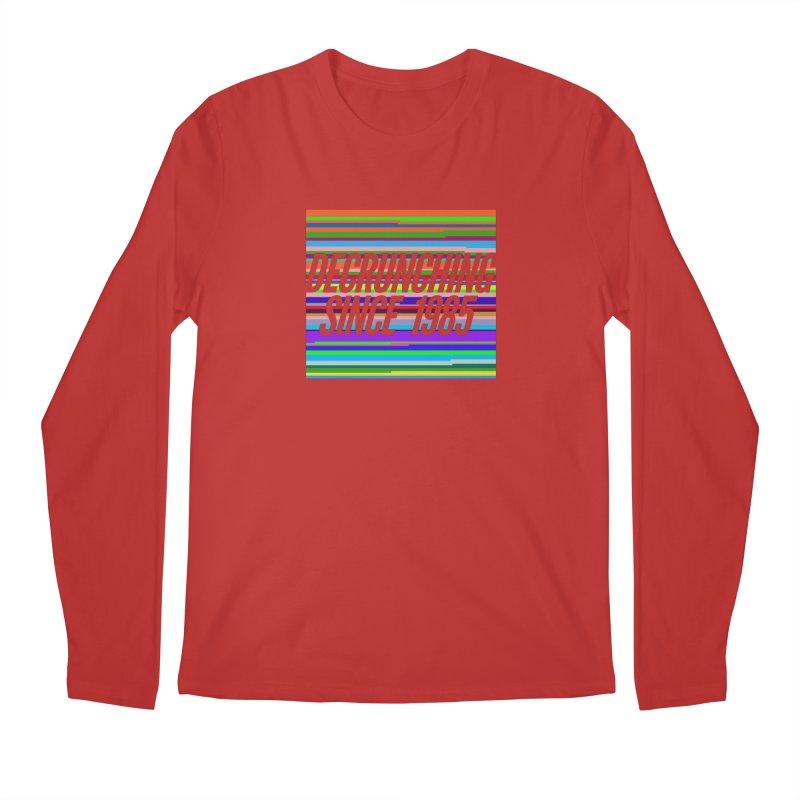 Decrunching Since 1985 Men's Longsleeve T-Shirt by 2pxSolidBlack