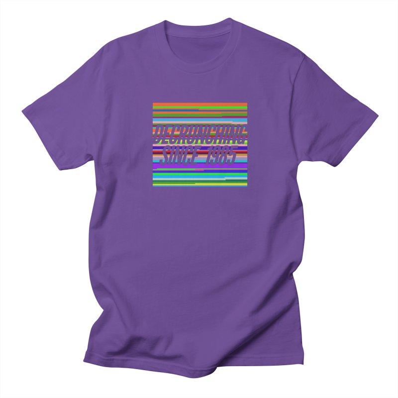 Decrunching Since 1985 Men's T-Shirt by 2pxSolidBlack