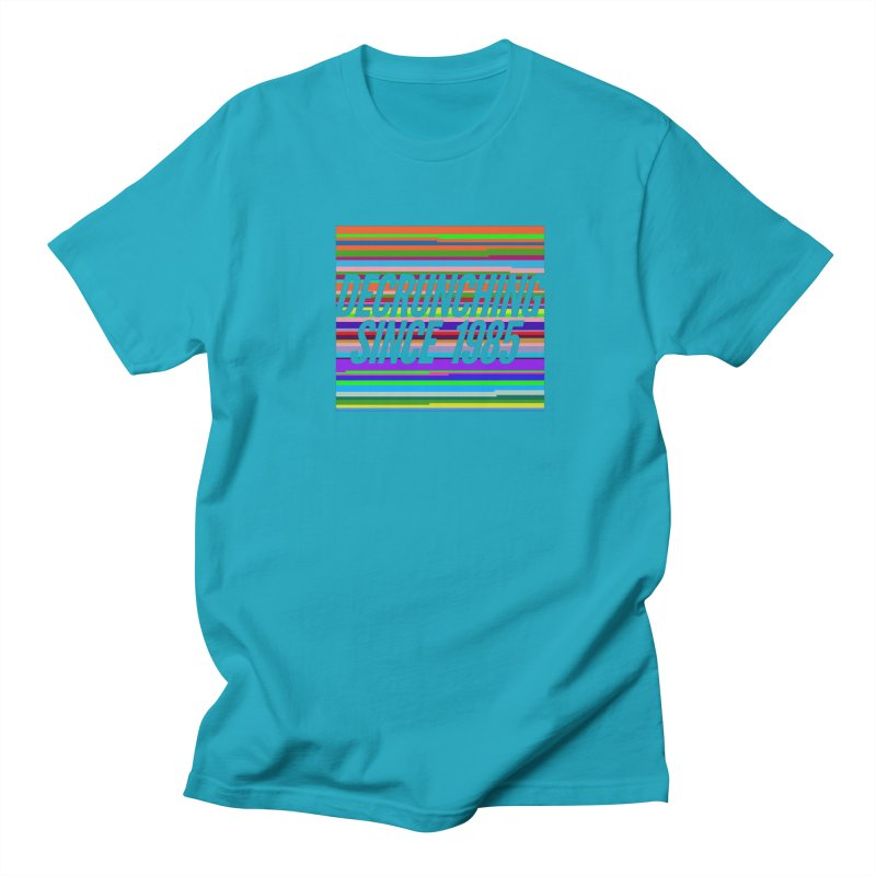 Decrunching Since 1985 Women's Regular Unisex T-Shirt by 2pxSolidBlack