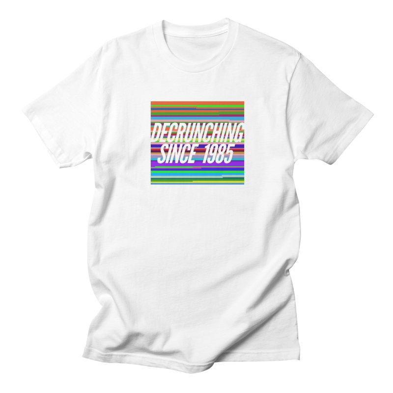 Decrunching Since 1985 Women's Regular Unisex T-Shirt by 2pxSolidBlack