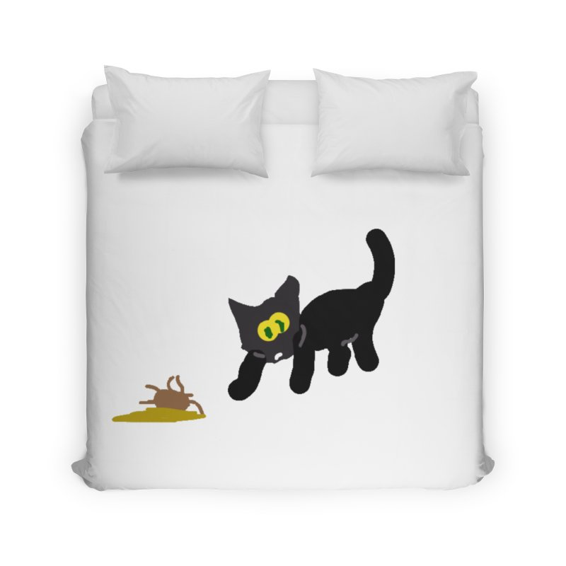 Hairball Apparel & Accessories Home Duvet by 2tokens's Artist Shop