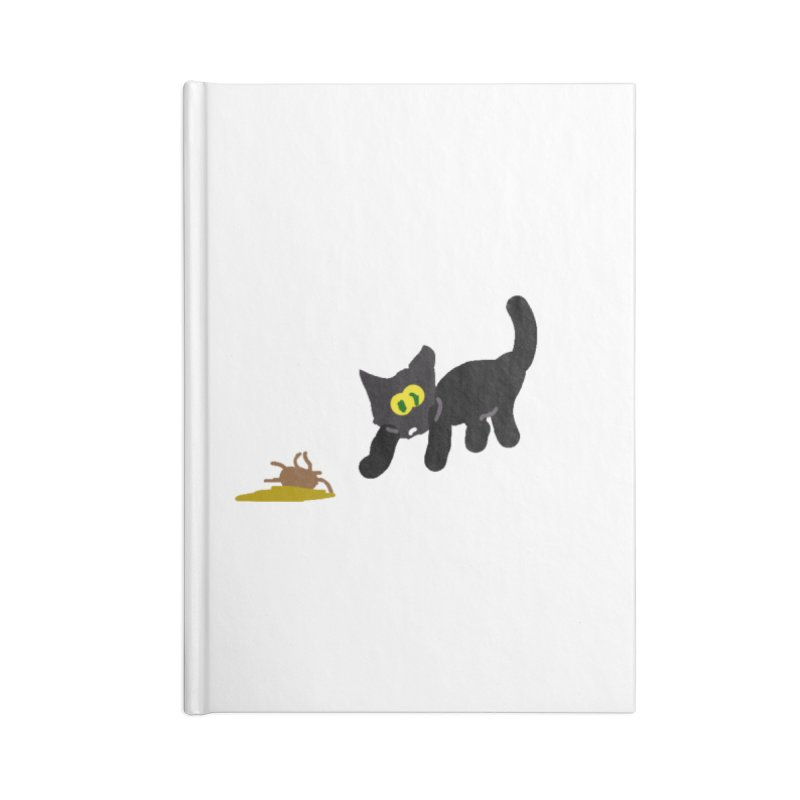 Hairball Apparel & Accessories Accessories Lined Journal Notebook by 2tokens's Artist Shop