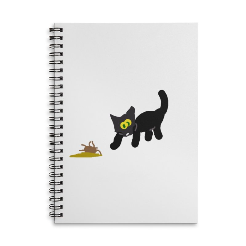 Hairball Apparel & Accessories Accessories Lined Spiral Notebook by 2tokens's Artist Shop
