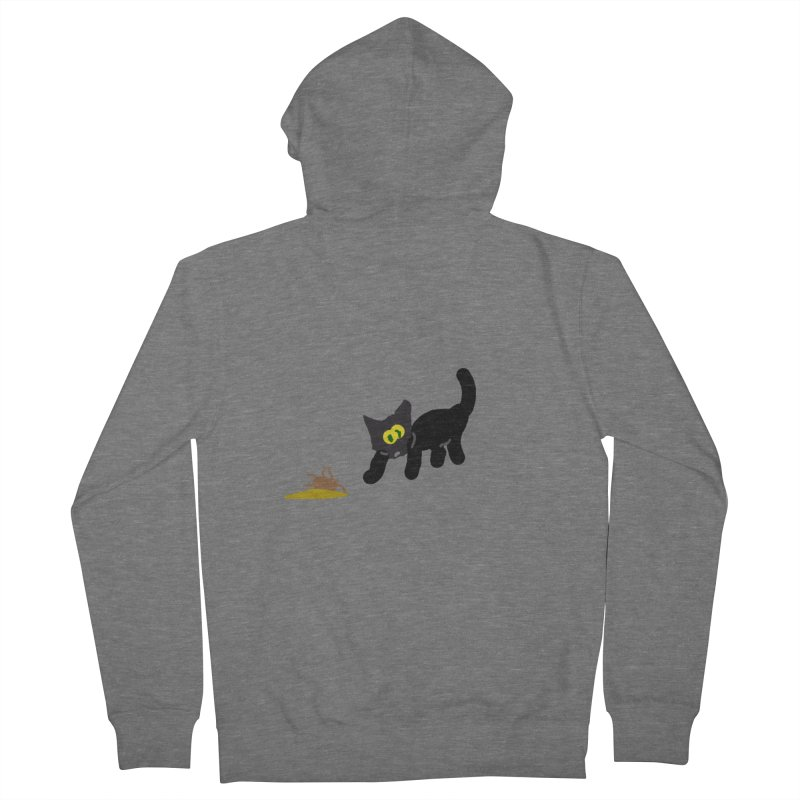 Hairball Apparel & Accessories Women's French Terry Zip-Up Hoody by 2tokens's Artist Shop